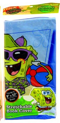SpongeBob Stretchable Book Cover