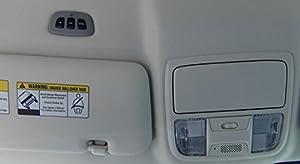 HomeLink 60-HMLKV5BLK Wireless Garage Door Opener Control System for Car Headliner or Sun Visor: Black (Color: Black)