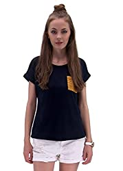 Raindrops Women's Top(1181A004C-Dark Blue-XL)