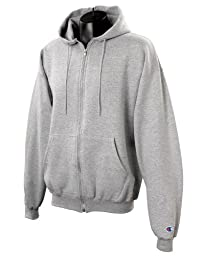 Champion Eco� 9 oz.; 50/50 Full-Zip Hood - LIGHT STEEL - L