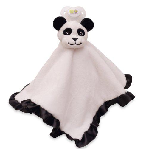 Paci-Plushies Blankies - Panda Blanket - 1