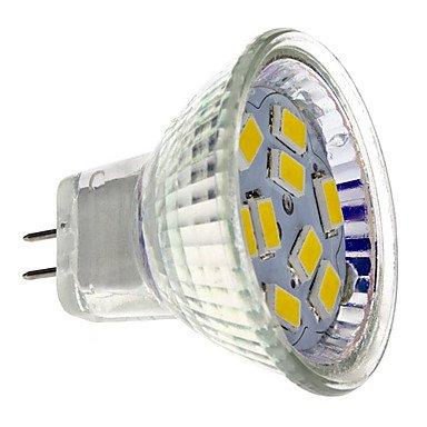 Mr11 4W 9X5730Smd 400-430Lm 2700-3000K Warm White Light Led Spot Bulb (12V)