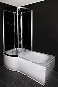 badewanne mit integrierter duschkabine carprola for. Black Bedroom Furniture Sets. Home Design Ideas