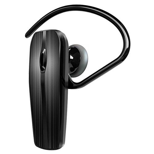 BOYON Bluetoothイヤホン ワイヤレスベッドセット 片耳タイプ ハンズフリー通話 マイク内蔵 超軽量、超小型ボディで通話も、音楽も楽しめるイヤホン Black/ブラック