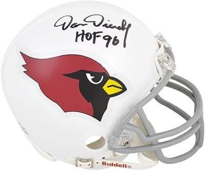 "Dan Dierdorf Arizona Cardinals Autographed Riddell Mini Helmet with ""HOF 96"" Inscription - Fanatics Authentic Certified"