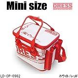 ドレス(DRESS) オリジナルバッカンmini LD-OP-0962 ホワイト/レッド