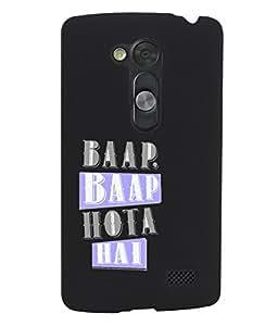 KolorEdge Back Cover For LG G3 D855 - Black (1547-Ke15126LGG3D855Black3D)