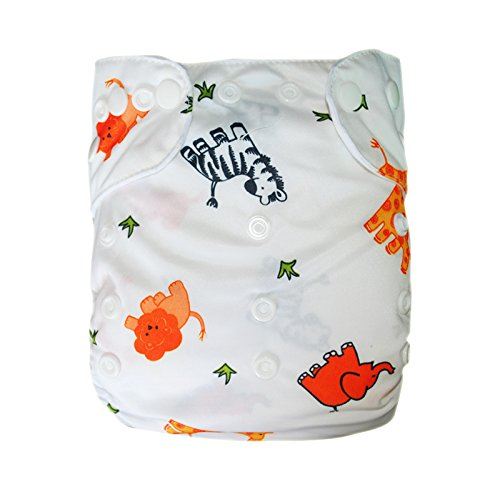 Besto Baby Reusable Washable Aio Cloth Diapers Fit 6-33Lbs With 1 Free Microfiber Insert 1E5 front-783605