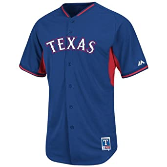 Mens Adrian Beltre #29 Texas Rangers MLB Authentic 2014 Cool Base Batting Practice... by Majestic Athletic