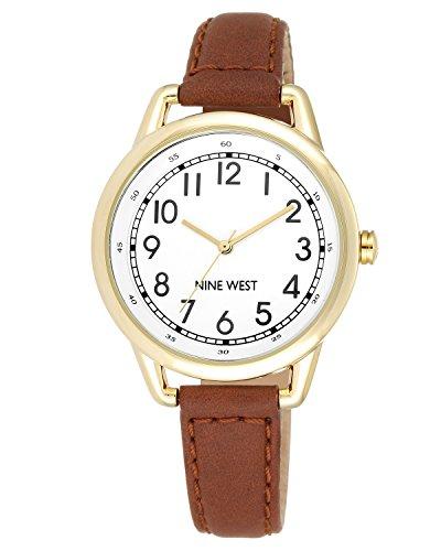 nine-west-para-mujer-reloj-infantil-de-cuarzo-con-esfera-analogica-blanca-y-correa-de-piel-color-mar
