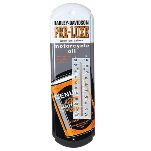 Harley-Davidson Pre-Luxe Oil Can Thermometer