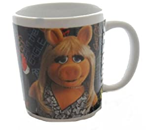 "Muppets The ""glamorous Miss Piggy & Friends"" Ceramic Mug"