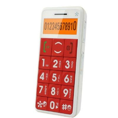 JUST5 J509 Easy to Use Unlocked Cell Phone  Big