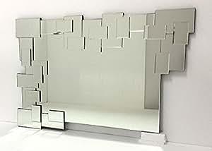 Specchio modern design da parete 120x80 e019 - Specchi da parete amazon ...
