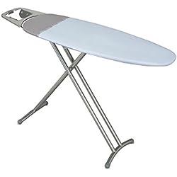 Rayen 6288.70AZUL - Tabla de planchar con reposaplanchas, 35 x 112 cm, tablero de metal, color azul