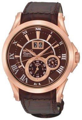 Seiko Premier Kinetic Perpetual Calendar SNP038P1 SNP038 SNP038P Men's Watch
