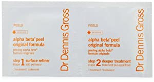 Dr. Dennis Gross Skincare Alpha Beta Daily Face Peel, Original Strength, 60 Count