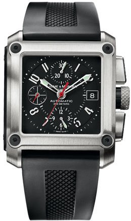 Baume & Mercier Men's 8826 Hampton Square XXL Automatic Chronograph Watch