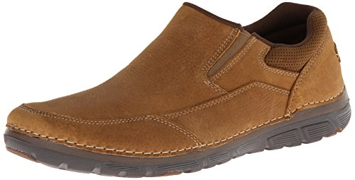 Rockport Men's Zonecush MG Slip-On Loafer,Tan,6.5 W US