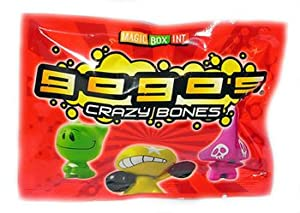 Crazy Bones Gogos Series 1 Booster Pack 3 Crazy Bones