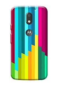 Moto E3 Power Back Case Premium Quality Designer Printed 3D Lightweight Slim Matte Finish Hard Back Cover Case for Motorola Moto E3 Power + Free Mobile Viewing Stand