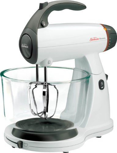 New Sunbeam 2371 MixMaster Stand Mixer, White