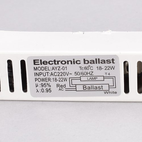SODIAL (R)T4 Fluorescent Lamps Electronic Ballast 22W