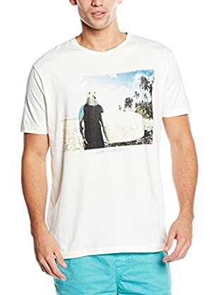 Springfield Camiseta Manga Corta (Crudo)