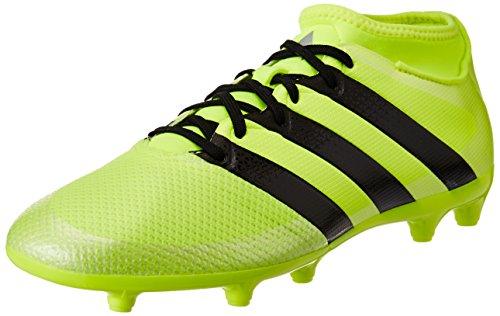 Adidas Ace 16.3 Primemesh Fg/Ag, Scarpe da Calcio Uomo, Giallo (Solar Yellow/Core Black/Silver Metallic), 44 EU