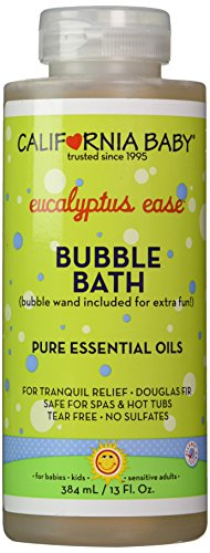 California Baby Bubble Bath Aromatherapy, 13 oz (Eucalyptus ease (for tranquil relief))