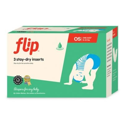 Flip 3-count Stay-dry Diaper Inserts - 1