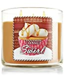 Bath Body Works Cinnamon Caramel Swirl 3-Wick Scented Candle