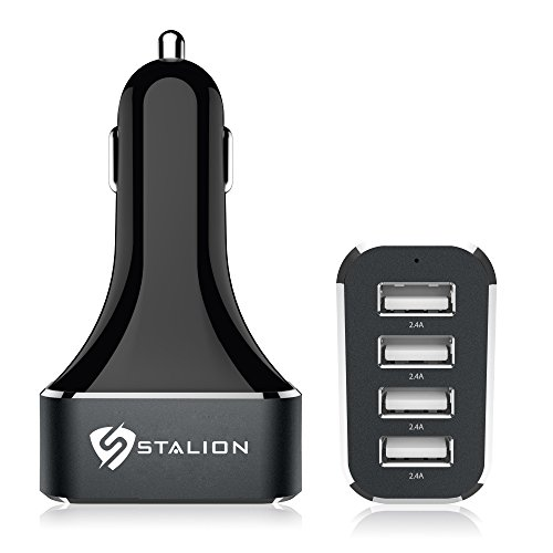 Car Charger : Stalion® 4-Port Multiple USB Vehicle