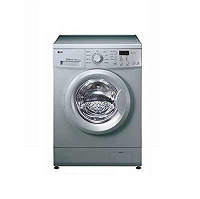 LG F1091NDL25 Inverter Direct Drive Fully-automatic Front-loading Washing Machine (6 Kg, Luxury Silver)