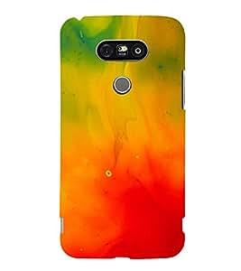 MODERN ART SMOKY PATTERN OF MIST 3D Hard Polycarbonate Designer Back Case Cover for LG G5:LG G5 Dual H860N with dual-SIM card slots