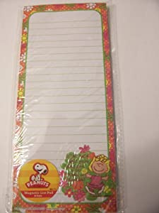 Peanuts Snoopy Magnetic List Pad ~ Sally, Too Young & Innocent (60 Lined Sheets)