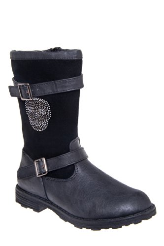 Eddie Marc Kid's 6051 Low Heel Mid Calf Boot