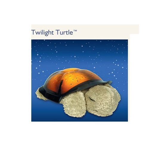 Twilight Turtle - Constellation Night Light with Small Plush Turtle