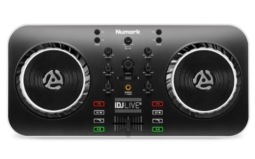 Numark iDJ Live II | DJ Controller for Mac, PC, iPad, iPhone and iPod Touch (USB, Lightning and 30-pin) (Dj 2 Mixer For Ipad compare prices)
