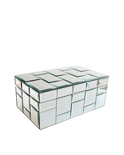 Allure by Jay Mirror Jewelry Box with Tiles