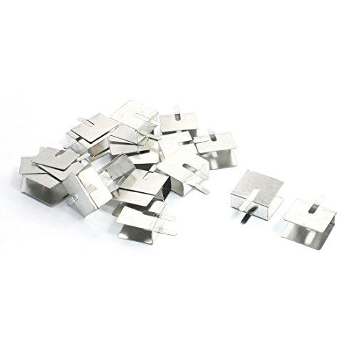 Lot de 20PCB de montage en aluminium chaleur Diffusion dissipateur thermique 18mm x 20mm x 10mm