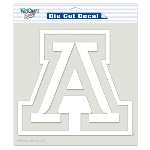 NCAA University of Arizona WCR72853091 Perfect Cut Decals, 8