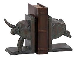 Deco 79 76786 Turtle Bookend, 5\