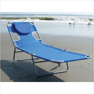 Outdoor Patio Ostrich Chaise Lounge Chair