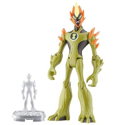 Buy Low Price Cartoon Network Ben 10 Swampfire 4″ Alien Force Action Figure Ben10 (B002SNLZGK)