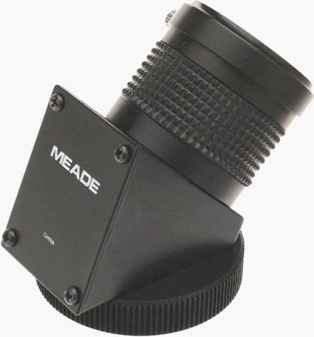 Meade 07210 No.932 45-Degree Erecting Image Prism Telescope Eyepiece, 1.25-Inch (Black)