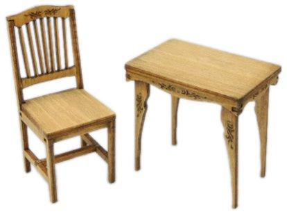 1/24 スウィートスタイルシリーズ アンティークな机と椅子【SG】