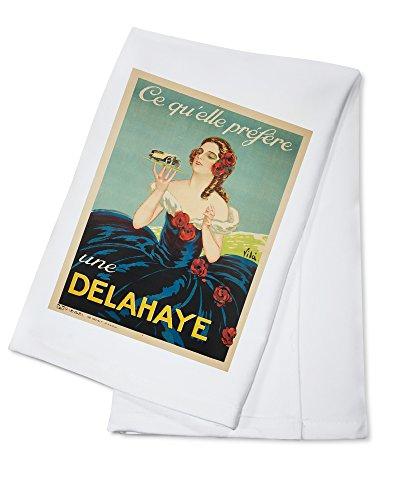 delahaye-vintage-poster-artist-vila-france-c-1935-100-cotton-absorbent-kitchen-towel