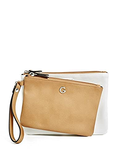 05. G by GUESS Women's Dorothy Double-Zip Wristlet