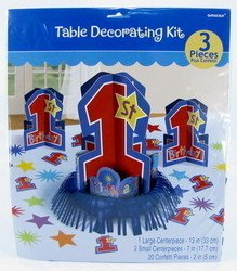 Amscan - One-derful Birthday Boy Table Decorating Kit